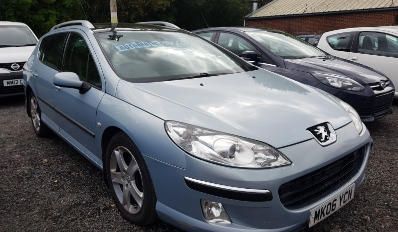 Peugeot 407 SW 2.0 HDi SE 5dr automatic full