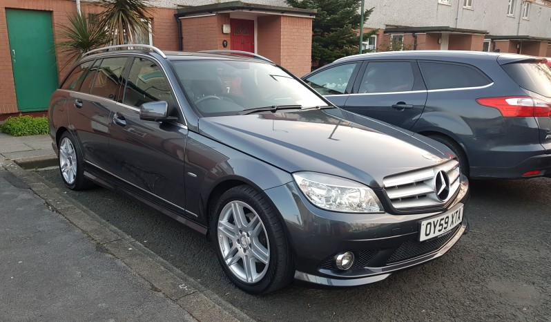 2010 Mercedes-Benz C Class 2.1 C250 CDI BlueEFFICIENCY Sport 5dr FSH automatic full