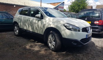 2012 Nissan Qashqai 1.6 Acenta CVT 2WD 5dr Automatic full