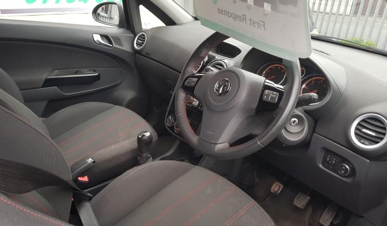 2012 Vauxhall Corsa 1.2 i 16v SXi 3dr  (62 reg), Hatchback full