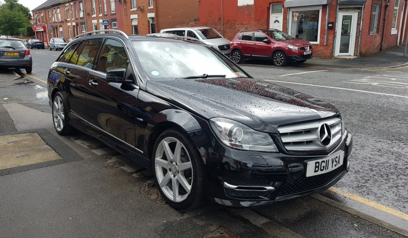 2011 Mercedes-Benz C Class 2.1 C220 CDI BlueEFFICIENCY Sport AUTOMATIC full